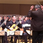 Guitar Orchestra in Concert.